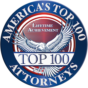 America's Top 100 Attorneys Lifetime Achievement Award